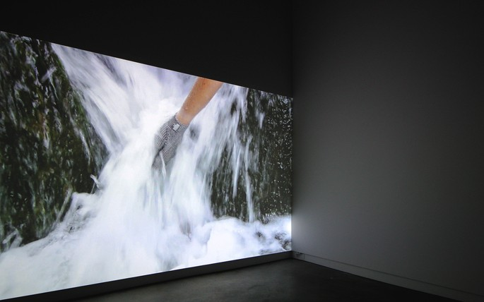 Image: Installation view of Conor Clarke's Unchained Melody. Credit: Rachel King