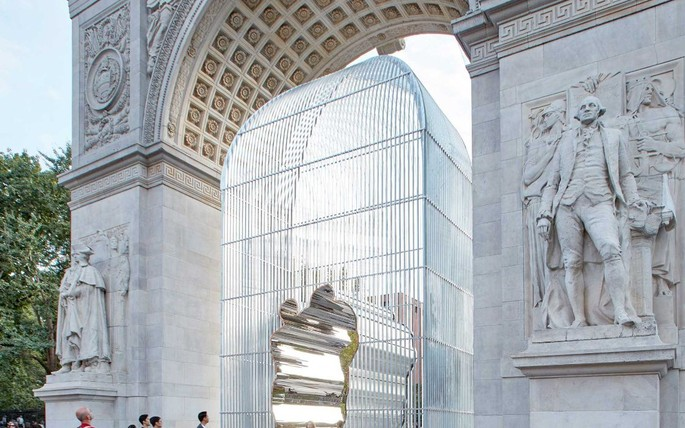 Image: Ai Weiwei, Arch, Washington Square, New York, Crafted by Urban Art Projects, Image Courtesy of UAP
