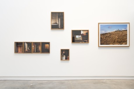 Installation view of 'John Scott Works' at CoCA, 2020. Photographer: Mitchell Btight.