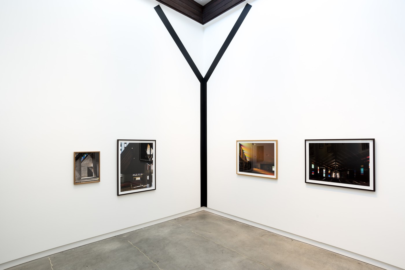 Installation view of John Scott Works at CoCA, 2020. Photographer: Mitchell Bright
