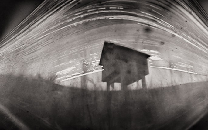 Stefan Roberts, Hopper; Waiau, 2012 / 2013 (9 months exposure - pinhole camera photo)