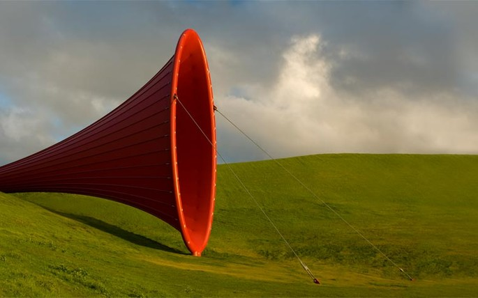 Dismemberment, Anish Kapoor; Image courtesy of Gibbs Farm